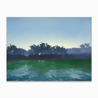 Never Knowing Canvas Print