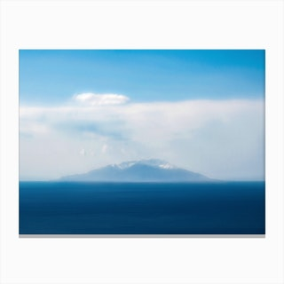 Blue Island Canvas Print