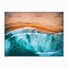 Tropical VII - Beach Waves III Canvas Print