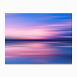 Abstract Sunset III Canvas Print