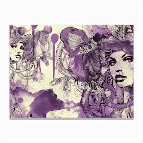 Viola 2 Canvas Print