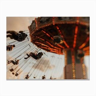 Ride Around Canvas Print