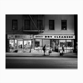Dry Cleaners Canvas Print