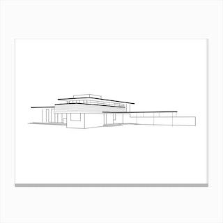 Gordon House Canvas Print