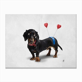 Butt (Wordless) Canvas Print