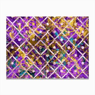 Pattern LXXXII Canvas Print