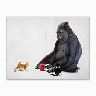 I Should, Koko (Wordless) Canvas Print
