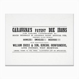 Caravagnas Square Canvas Print