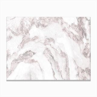 White Marble Mountain I Canvas Print