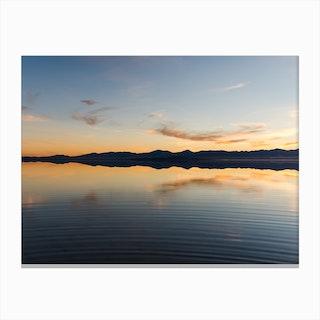 Bonneville Salt Flats Canvas Print