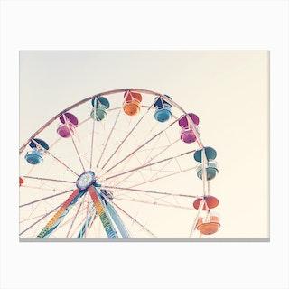 Fairies Wheel Canvas Print