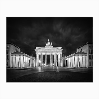 Berlin Brandenburg Gate Canvas Print
