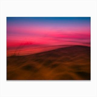 Dunedu Pilat Abstract Horizontal Canvas Print