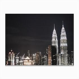 Kuala Lumpur Night 1 Canvas Print