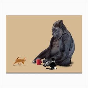 I Should, Koko (Colour) Canvas Print