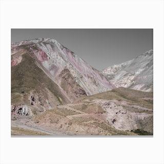 Rose Mountains Canvas Print