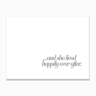 And She Lived Canvas Print