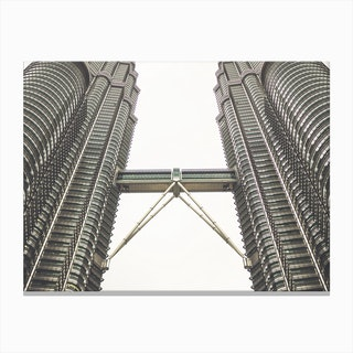 Petronas Twin Towers 3 Canvas Print