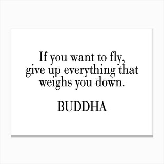 Buddha Quote Canvas Print