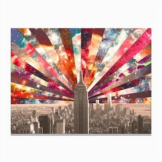 Superstar New York - horiz in Canvas Print
