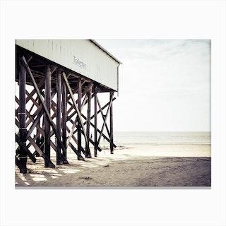 At the Beach 6 Canvas Print
