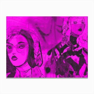 Yellow II Canvas Print
