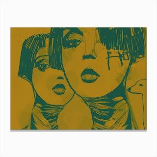 Mind Against III Canvas Print