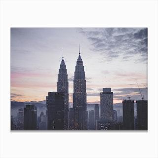 Kuala Lumpur Morning 3 Canvas Print