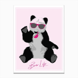 Bear Life Canvas Print