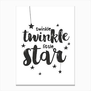 Twinkle Twinkle 1 Canvas Print