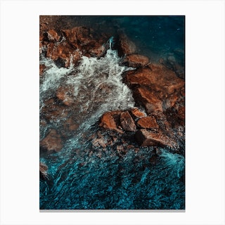 Abstract Water 3 Canvas Print