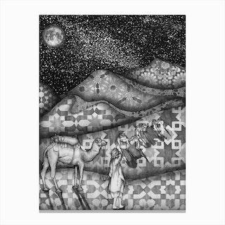 Arabian Nights Canvas Print