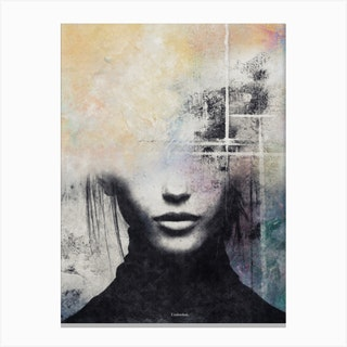 The Concept Of Beauty Canvas Print