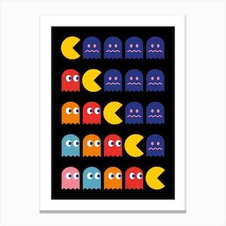 8 Bits Canvas Print