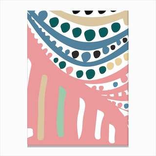 Ode To Yayoi Canvas Print