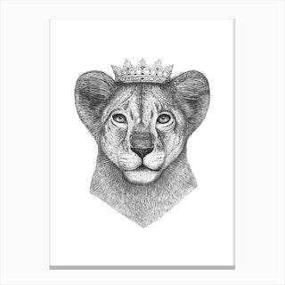 The Lion Prince Canvas Print