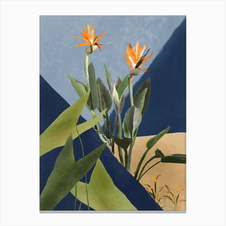 Growing Flowers Canvas Print