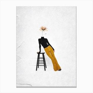 Like A Flower Canvas Print