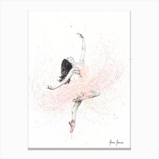 Spring Rose Dance Canvas Print