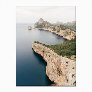 View Over Cap De Formentor On Mallorca In Spainjpg Canvas Print
