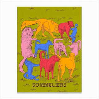 Sommeliers Canvas Print