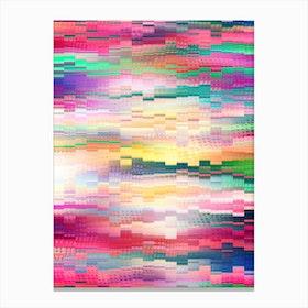 Vivid Pattern Xvi Canvas Print