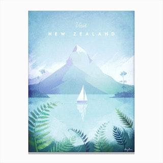 Visit New Zealand Canvas Print