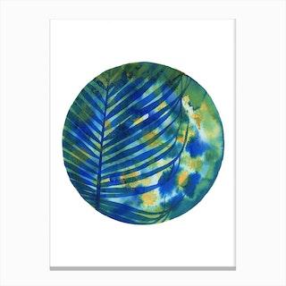 Tropical Shadows Canvas Print