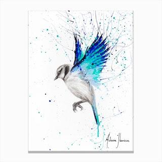 Tranquil Bird Canvas Print