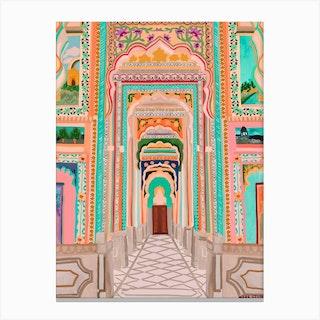 Patrika Gate Canvas Print