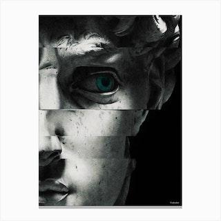 David'S Eye Canvas Print