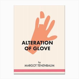 Margot Tenembaum Glove Canvas Print