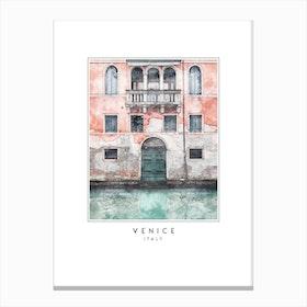 Venice Travel Canvas Print