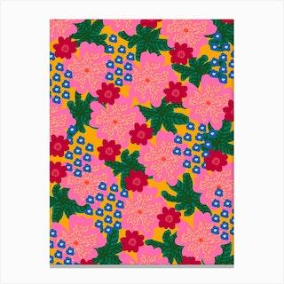 Plant Flowers Canvas Print